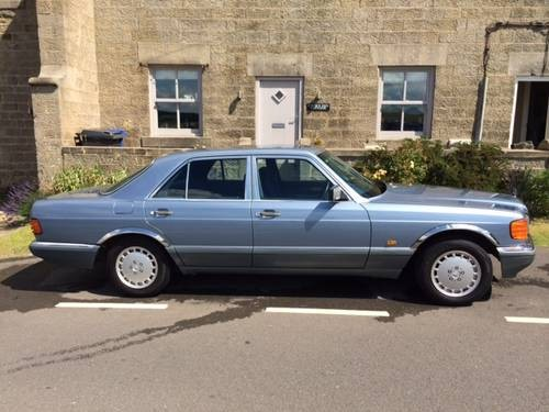 For sale 1987 mercedes w126 300se auto saloon classic for Mercedes benz w126 for sale
