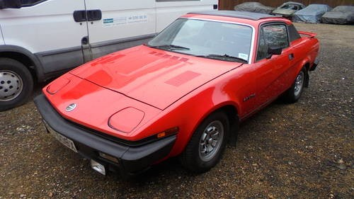 For Sale Triumph Tr7 Fhc 40000 Miles 3 Owners 1981 Classic
