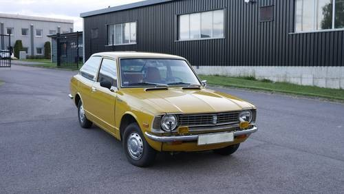 for sale toyota corolla k20 coupe 2 owners 1976 classic cars hq. Black Bedroom Furniture Sets. Home Design Ideas