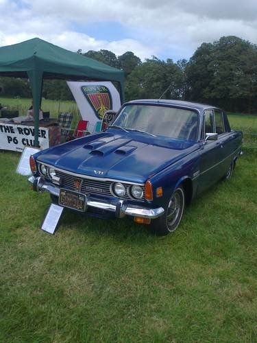 For Sale Rover P6 3500s Usa Federal Spec Nada 1969 Classic
