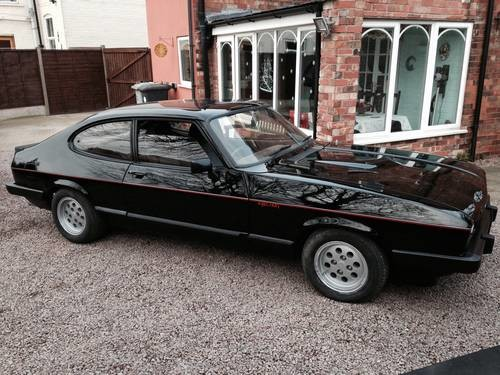 for sale ford capri 2 8i in black 1983 classic cars hq. Black Bedroom Furniture Sets. Home Design Ideas