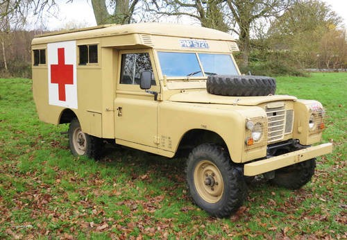 For Sale – Land Rover Series III Military Ambulance (1979