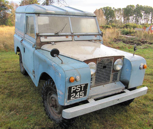 Land Rover Series 2 Barn Find NOW WITH MOT