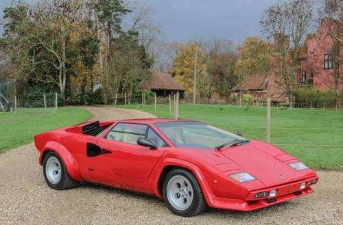 for sale lamborghini countach only 3031 miles 1983. Black Bedroom Furniture Sets. Home Design Ideas