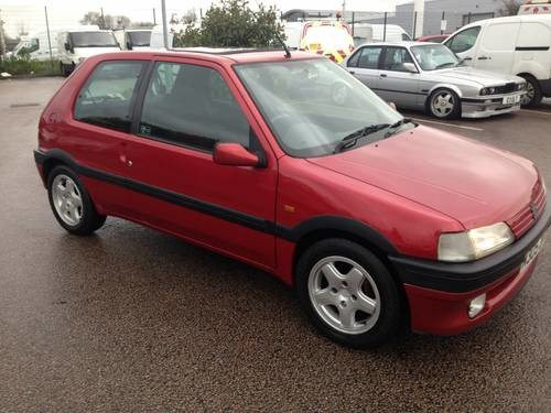 For Sale – Peugeot 106 xsi 1600 Mk1 clic (1985) | Clic Cars HQ.