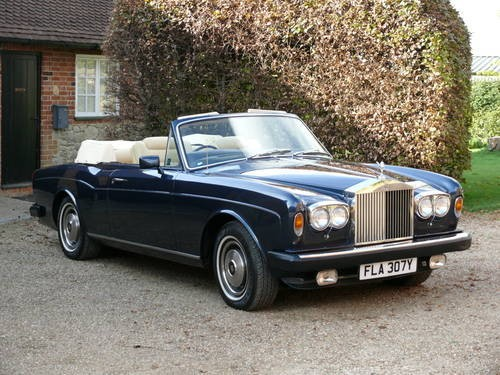for sale 1982 rolls royce corniche convertible classic cars hq. Black Bedroom Furniture Sets. Home Design Ideas
