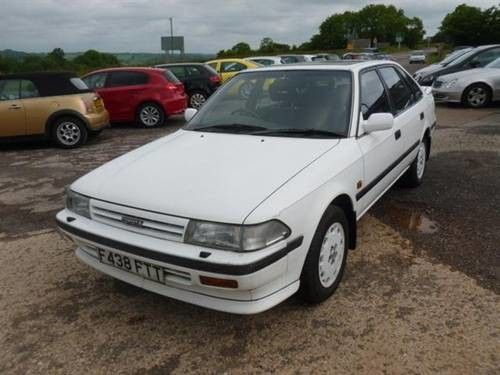 For sale 1988 toyota carina ii 20 gli executive 59k 10t for publicscrutiny Image collections
