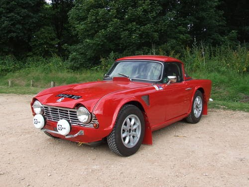 For Sale Triumph Tr4 Fia Works Roadrally Car 1963 Classic