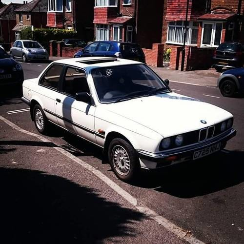 For Sale – BMW 3 Series 320i (1985)