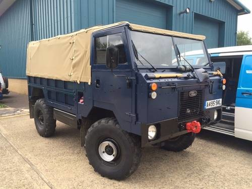 For Sale – Unique Land Rover 101 converted into a mobile bar! (1986
