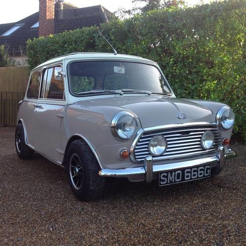 for sale morris mini cooper s 1968 mk2 classic cars hq. Black Bedroom Furniture Sets. Home Design Ideas