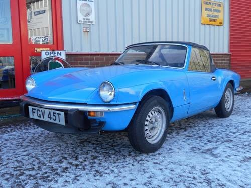 For Sale Triumph Spitfire 1500 Fitted Factory Overdive Hardtop