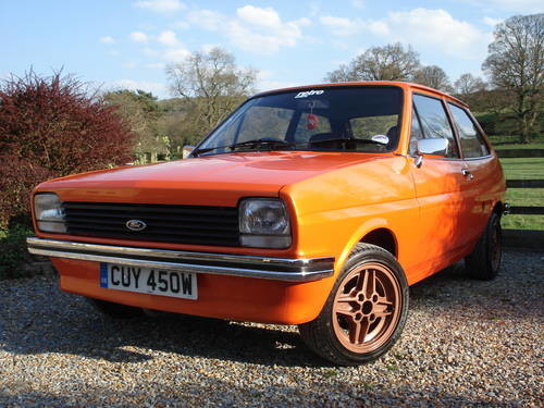 for sale ford fiesta mk1 in lovely condition 1980 classic cars hq. Black Bedroom Furniture Sets. Home Design Ideas