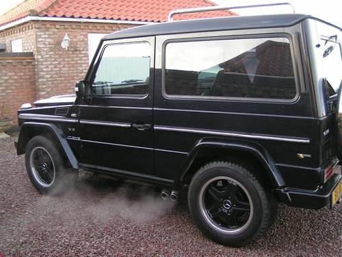 for sale mercedes g wagon 5 6 amg v8 auto awesome vehicle 19500 ono 1988 classic cars hq. Black Bedroom Furniture Sets. Home Design Ideas