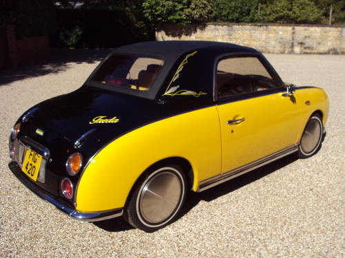 For Sale – A truly unique custom Nissan Figaro (1990) | Classic Cars HQ.