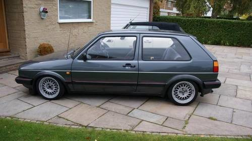 for sale vw golf mk2 gti 8v small bumper with sun roof 1988 classic cars hq. Black Bedroom Furniture Sets. Home Design Ideas