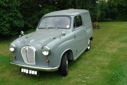 for sale austin a35 van 1958 classic cars hq. Black Bedroom Furniture Sets. Home Design Ideas