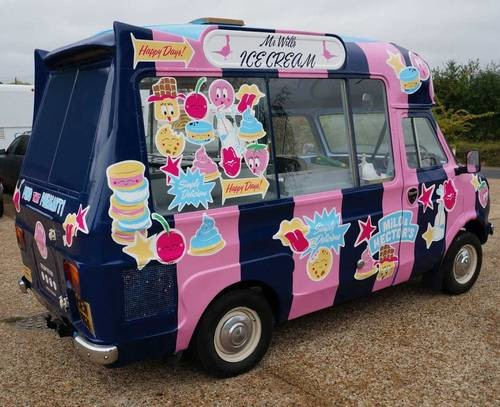 For Sale  Bedford CF Ice Cream Van 1978  Classic Cars HQ