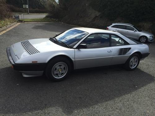 for sale ferrari mondial 8 rhd silver 1982 classic. Black Bedroom Furniture Sets. Home Design Ideas