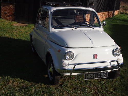 For Sale 1967 Fiat 500l Classic Cars Hq