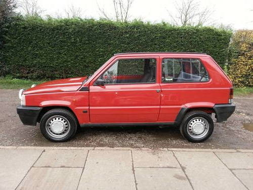 for sale fiat panda 1000 cl 1988 34024 miles classic. Black Bedroom Furniture Sets. Home Design Ideas