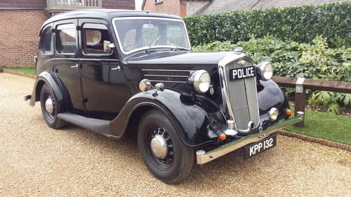 For Sale – Wolseley 12/48 Series 3 – Police Car – Restored