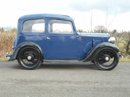 For Sale Austin 7 Severn Ruby 2 Door Saloon 1937