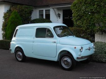For Sale – Fiat 500 Furgoncino (Van) Classic 1973 / Restored & Mint! | Classic Cars HQ.