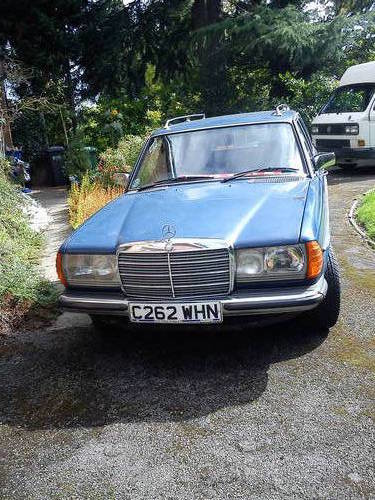 For sale mercedes w123 230te auto 1986 classic for Mercedes benz w123 for sale