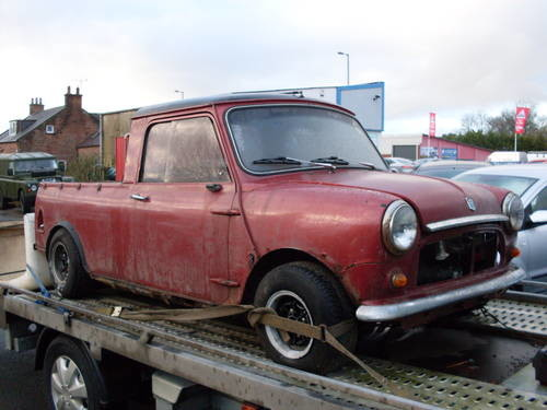For Sale Mini Pickup Garage Find 1981 Classic Cars Hq