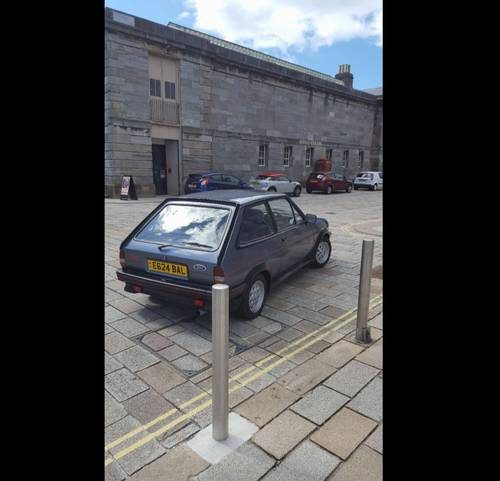 For Sale – Ford Fiesta XR2 – 3 Owners 79k (1987)