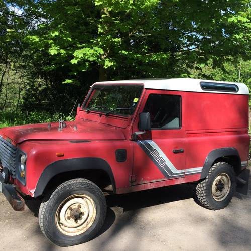 For Sale – Land Rover 90 SWB Hardtop (1989)