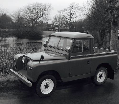 Classic 1959 Land Rover Series 2 Truck Cab