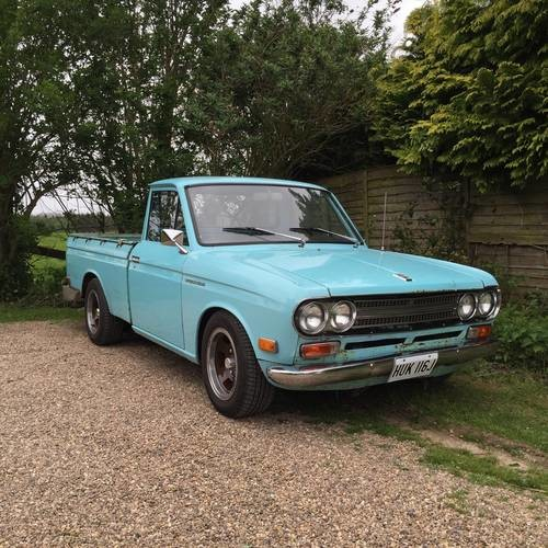 for sale datsun 521 pickup truck 1971 classic cars hq. Black Bedroom Furniture Sets. Home Design Ideas