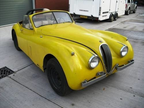 Jaguar XK120 for Restoration (1953)