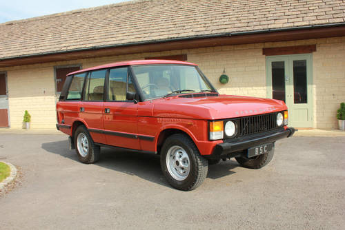 for sale 1984 range rover classic v8 classic cars hq. Black Bedroom Furniture Sets. Home Design Ideas