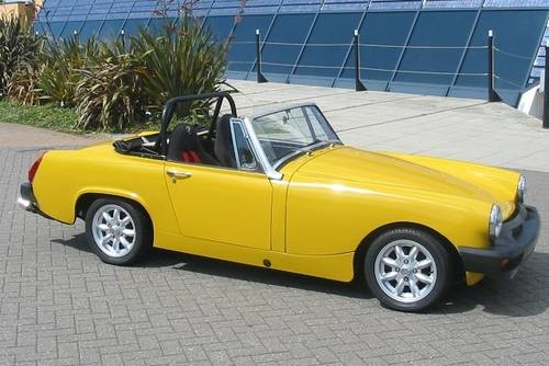for sale 1977 mg midget 1500 classic cars hq. Black Bedroom Furniture Sets. Home Design Ideas