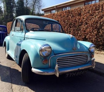 Ex Police Car Auctions >> For Sale – Morris minor ex police car (1970) | Classic Cars HQ.