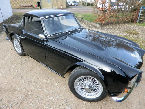 For Sale – Restored Triumph TR4 with Overdrive (1965