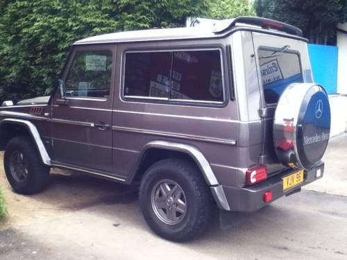 for sale mercedes g wagen 300 gd brabus 3 door manual 1989 classic cars hq. Black Bedroom Furniture Sets. Home Design Ideas
