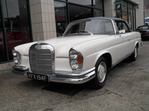 For Sale Mercedes Benz 280se Coupe 1968 Classic Cars Hq