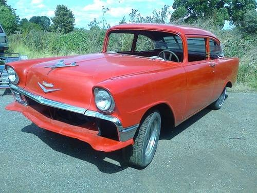 For sale project chevrolet 4 door sedan 1956 classic for 1956 chevy 4 door for sale