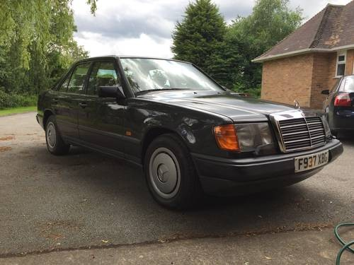 For sale mercedes benz w124 260e 1988 classic cars hq for Mercedes benz w124 for sale