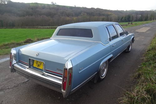 For Sale – Cadillac Brougham D'Elegance Sedan V8 5 0L 1987