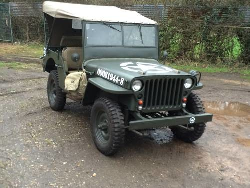 for sale willys jeep hotchkiss m201 1960 classic cars hq. Black Bedroom Furniture Sets. Home Design Ideas