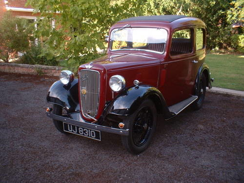For Sale Austin 7 Ruby 1936 Sunroof No Rust Classic
