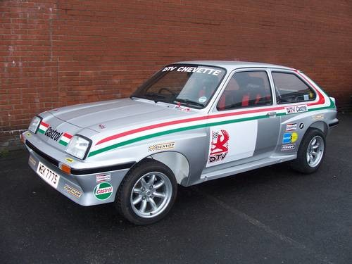 For Sale Chevette Hsr Long Wheel Base Rally Car 1977 Classic