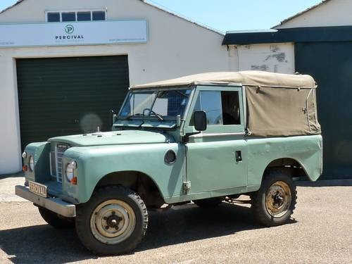 for sale land rover series 111 88 1983 classic cars hq. Black Bedroom Furniture Sets. Home Design Ideas