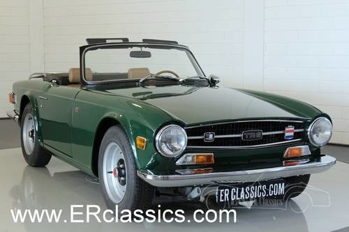 For Sale Triumph Tr6 1974 Restored Galvanised Chassis Classic
