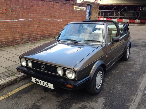 for sale volkswagen golf 1 8 clipper convertible cabriolet 1987 classic cars hq. Black Bedroom Furniture Sets. Home Design Ideas